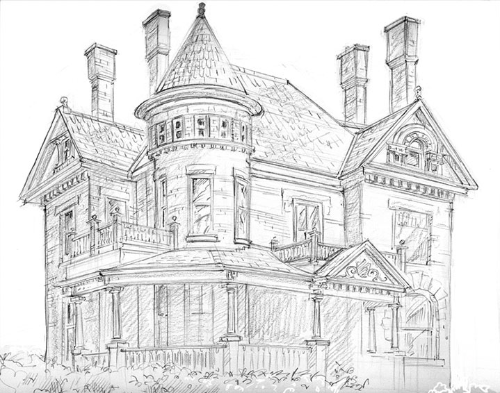 Art by ruth tait Draw your house